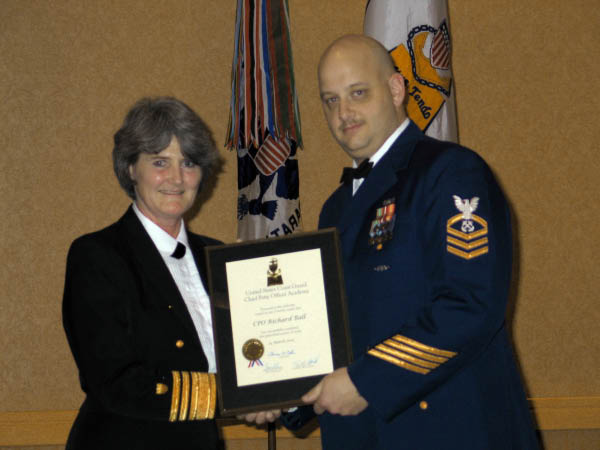 Admiral Vivian Crea and BMC Rick Ball